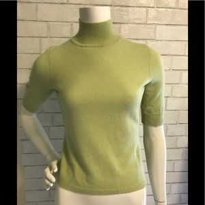 NWT Ann Taylor mint green cashmere sweater.